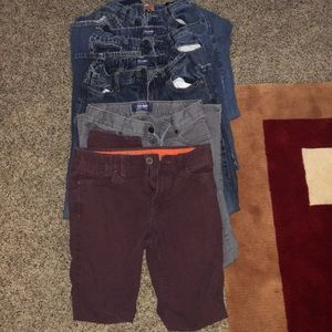 Old navy jeans 👖 and urban pipeline,(size 14, 12)